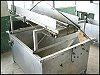 Stainless Steel Rectangular Tank with Dewatering Conveyor - 275 Gallons