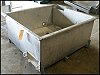 Stainless Steel Rectangular Tank - 250 Gallons