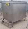 Stainless Steel Rectangular Tank with Heat Coil - 550 Gallons