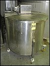 Stainless Steel Mixing Tank - 125 Gallons