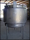 Mueller Stainless Steel Mixing Tank - 300 Gallons