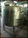 FBN Metal Products Stainless Tank - 262 gallons