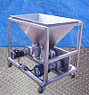 APV Stainless Steel Feeding Hopper Tank with R3 Pumps - 60 Gallon