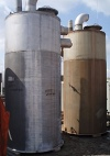 Stainless Steel Single Shell Vertical CIP Tank- 1500 Gallon