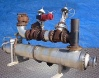 Refrigeration Valves and Systems Shell and Tube Heat Exchanger - 282 sq. ft.