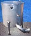 Stainless Steel Single Shell Balance Tank- 85 Gallon