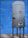 2002 Permian Fabrication & Service Vertical Stainless Steel Heated Tank - 1000 Gallons