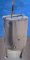Stainless Steel Single Shell Tank- 50 Gallon