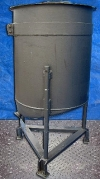 Winthrop Stearns Inc. Sloped Bottom Glass Lined Tank 120 Gallon