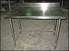 Stainless Steel Work Table 30 in. x 48 in.