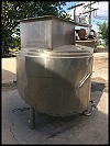 Stainless Steel Juice Thaw Tank - 350 Gallon