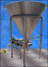 APV Crepaco Stainless Steel Holding Tank and Pump – 300 Gallons