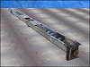 Galvanized Steel Screw Auger Conveyor - 9.5 in. dia.