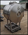 Alfa Laval Aseptic Stainless Steel Tank - 150 gallons