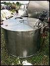 Pfaudler Stainless Steel Process Tank - 300 gallons
