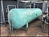 Frick Horizontal Ammonia Receiver Vessel - 1200 gallons