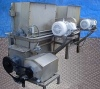 Stainless Steel Delumper with Screw Auger Discharge