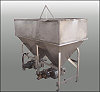 APV Stainless Steel  Feeding Hopper Tank and Pump Package-360 gallons