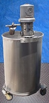 Stainless Steel Tank with Graco Drum Pump- 40 Gallon