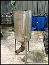Stainless Steel Cone Bottom Tank – 30 gallons