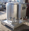 Stainless Steel Jacketed Tank Skid with Controls - 165 Gallon