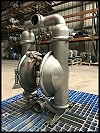 Wilden 316 Stainless Steel M15 Double Diaphragm Pump