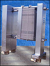 APV Stainless Steel Plate Heat Exchanger - 470 Sq. Ft.