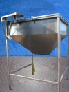 Stainless Steel Hopper Tank- 130 Gallon