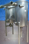 (2) Stainless Steel Vacuumizer Tanks- 75 Gallon (ea.)